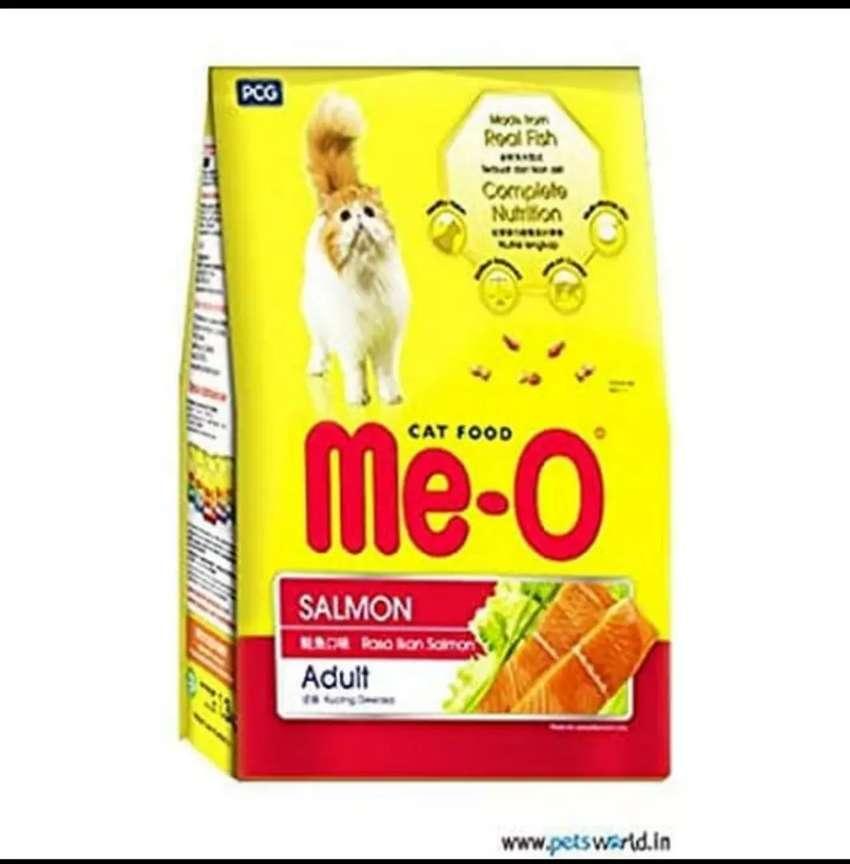 Makanan Kucing Meo Salmon Kemasan 1 1kg Hewan Peliharaan 766128469