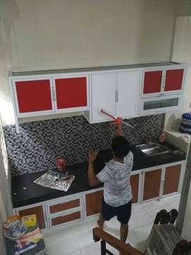 Kitchen Set Aluminium Dijual Mebel Murah Di Depok Kota Olx Co Id