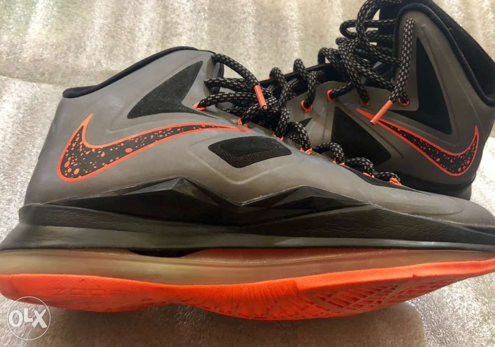 14df7d2c94ef SALE! Nike Lebron X 10 Size 8 Orange Black Lava DEFECT in Makati ...