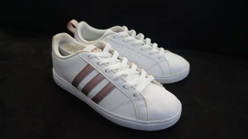 ADIDAS NEO ADVANTAGE WHITE FALS ROSE GOLD