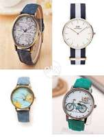 Pack of 4 High Quality Watches [ Brand new Stock ]