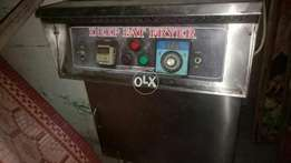 Used do tube fryer with chip dum .pizza oven.fast food