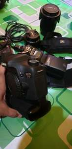 canon eos 7d kit 2 lensa mulus like new