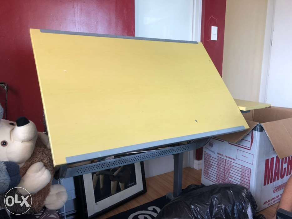Drafting Table For Architects Draftsman And Interior Design In