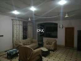 Double story kothi for rent advance 500000 in Naqshband colony