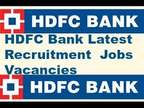 HDFC Bank direct job openings in Delhi Branches