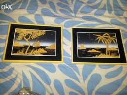 Frame antique two