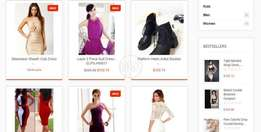 Marvlus Offer Clothing Website Design Solutions by Design Tool 5