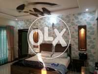 3 bedroom furnished portion on rent ph 2 bahria town rwp