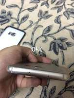 S7 Edge Silver Colour Duos No Fault with charger 85% condition