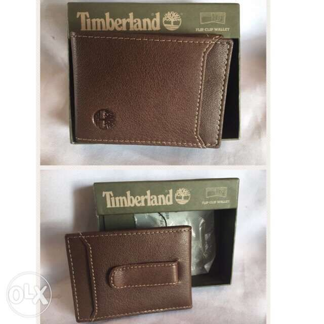 17003f94a6ac4 Original Timberland Money Clip Wallet Genuine Leather in Parañaque ...