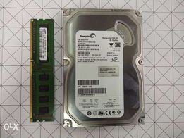 Used Desktop DDR3 1GB Samsung Memory and 160GB Seagate SATA HDD