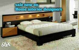 Lighting double bed set .by