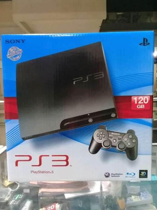 Ps3 slim 120GB fullgame
