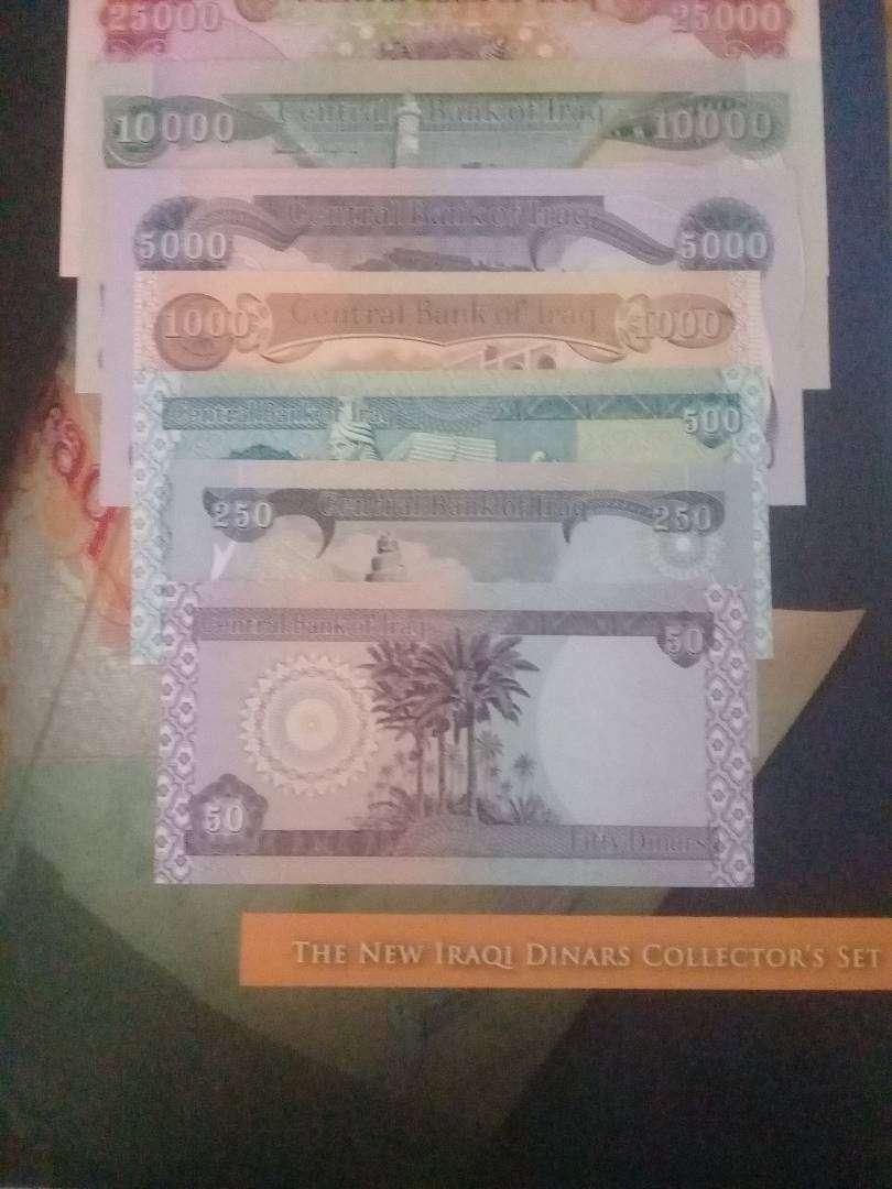 Jual Iraqi Dinars Collection Set