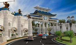 Blue World City residential project in the city of Islamabad.