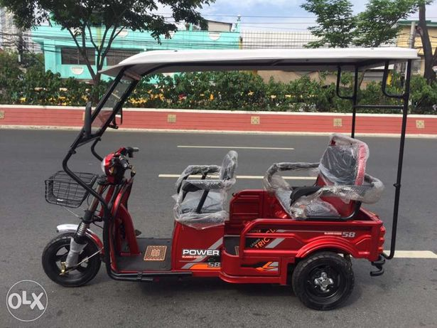 Rfm Leisure Cargo Lithium Ion Electric 3wheel Trike Etrike