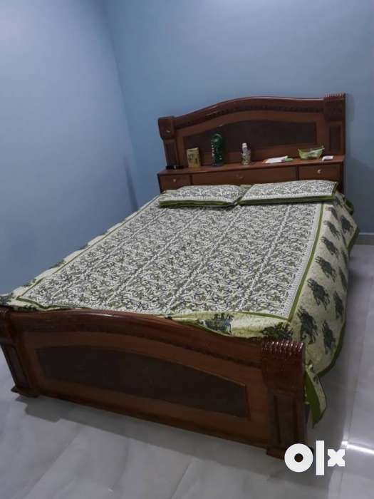 Teak Wood King Size Cot With Storage Beds Wardrobes