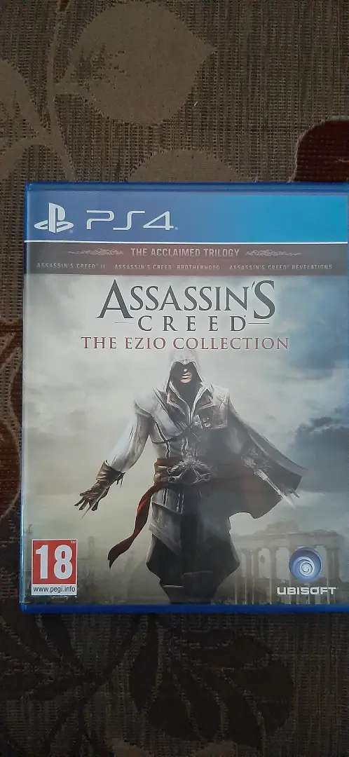 Ps4 Hot Sale Assassins Creed The Ezio Collection Reg 2 Games Console 791368035