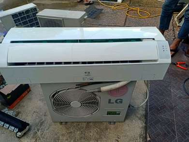 For sale, ac second sharp indoor, outdoor LG 1/2 pk, include pemasanga