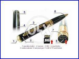 Impotd Quailty Camera pen attractive working capacity now avail