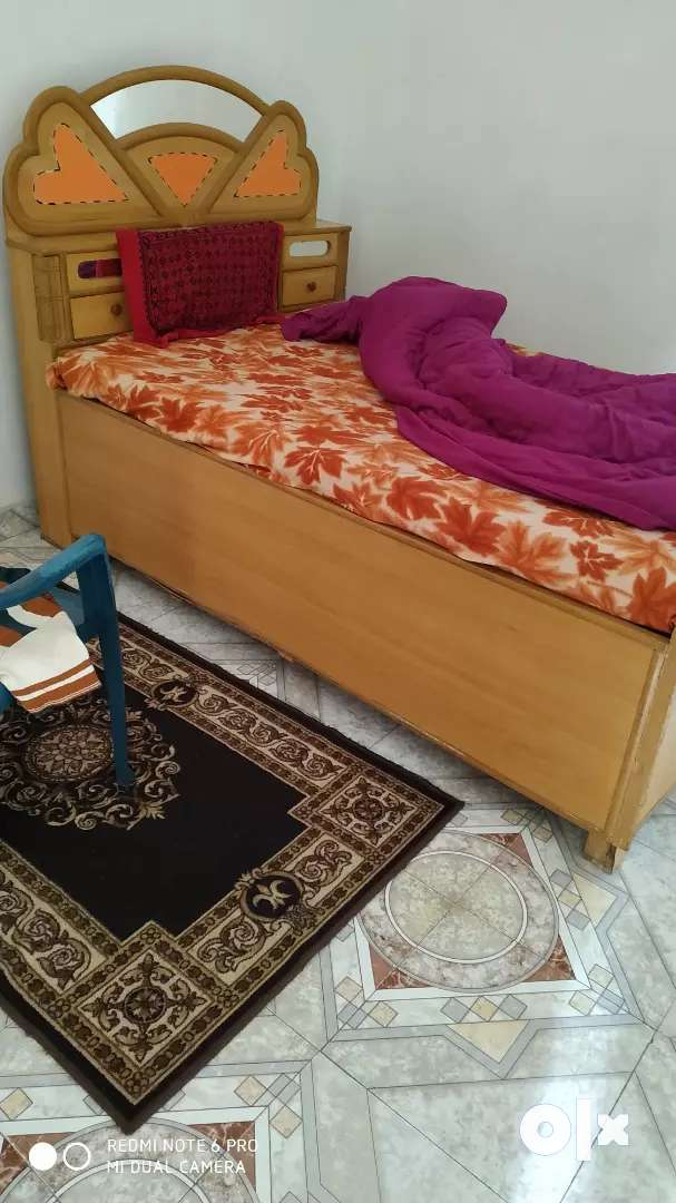 Heavy Duty Bed Just 1 Year Old Beds Wardrobes 1500921534 Olx