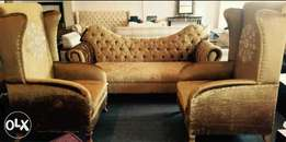 LALBAY royal Gold couch 5 seater brand new