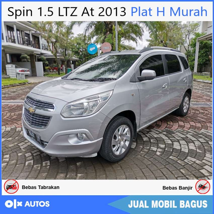 Dp28jt Chevrolet Spin 1 5 Ltz At 2013 Plat H Kredit Murah Mobil Bekas 811212576