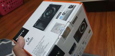 Sony mirrorrless ILCE A6000 bnib segel