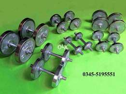 2018 New Fresh Stock 18 Kilo Complete 9KG + 9KG Barbell dumbells Gym