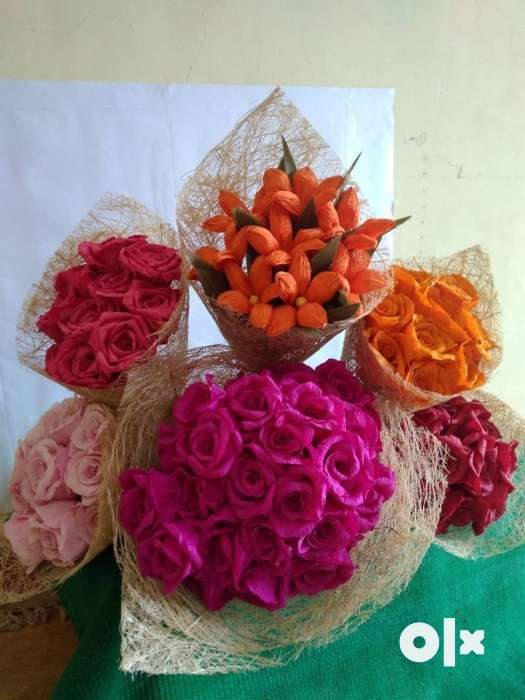 We are in making of handcrafted paper flowers and thane books show only image we are in making of handcrafted paper flowers mightylinksfo
