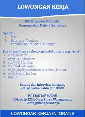 Lowongan Kerja Cari Lowongan Lowongan Lainnya Terbaru Di Jawa Timur Olx Co Id