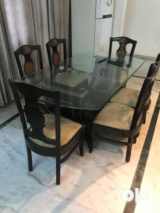 Show Only Image Dining Table 3x6 6 Chairs