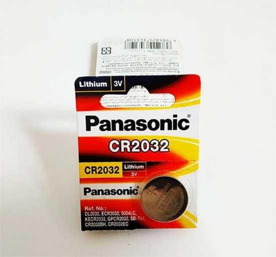 Battery Lithium Panasonic CR2032 (3 Volt) Original untuk PC / Komp dll