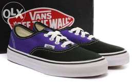 Vans Authentic For Girls In Purple Black