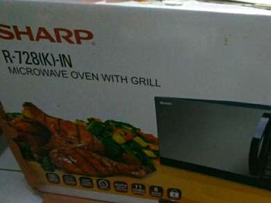 microwave oven with grill Sharp R-728(K)-IN