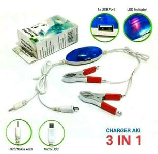 charger hp aki 2in1