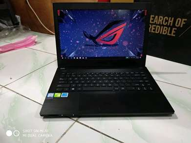 laptop Gaming&Editing Asus Pro 244UQ like new garansi resmi panjang