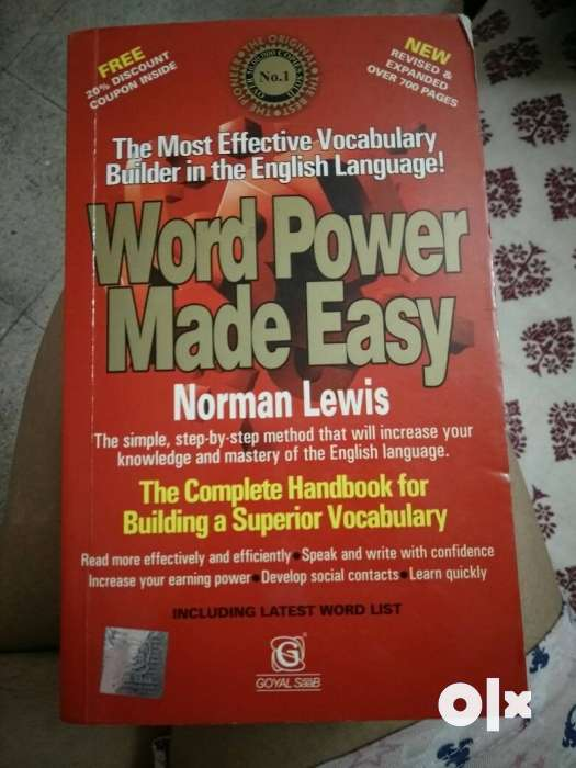 Word Power Made Easy By Norman Lewis Book
