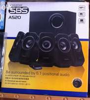 New box pack with warranty 5.1 woofers