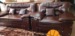 Leather 6 seater sofa in DHA Phase 1 defence