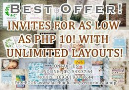 Cards invitation view all ads available in the philippines olx affordable cheap invitation cards stopboris Choice Image