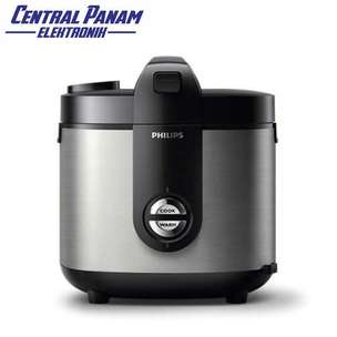Philips Rice Cooker 2 L(HD3132)-Central Panam Elektronik