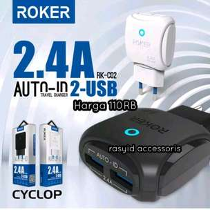 Charger Roker Original 100% Fast Charger