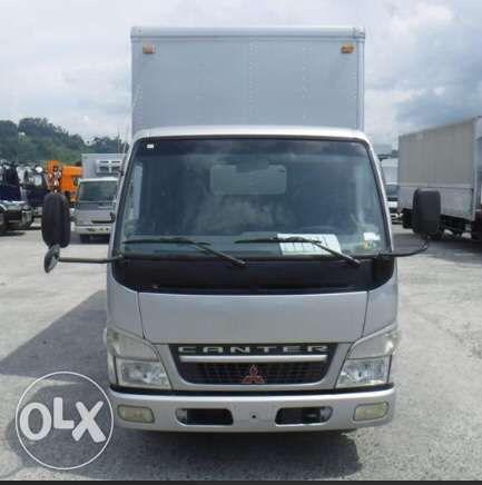 8e7e8cb3e7 Mitsubishi Fuso Canter 14ft Narrow Aluminum Closed Van not Isuzu Elf ...