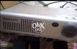 Panasonic projector sell good condition only call