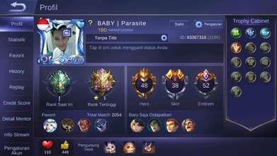 Akun Mobile Legend