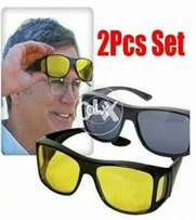 pack of 2 HD night and day glasses