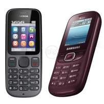 Nokia and samsung Pack of 2 Mobile Rs 2000