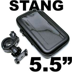 Holder HP Stang Sepeda Motor Waterproof Anti Air